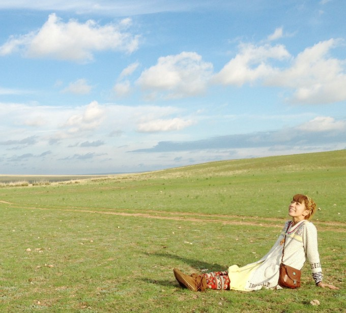 ↑★13★旅に出てみよう。中国・内モンゴルにて。