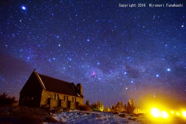 【写真2】星降る教会(4つの十字)