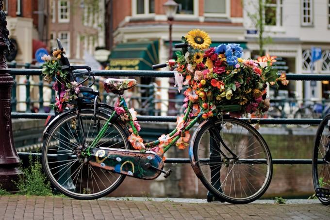 アムステルダム風景_自転車
