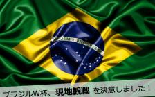 僕が、ブラジルワールドカップを現地観戦せざるをえない理由