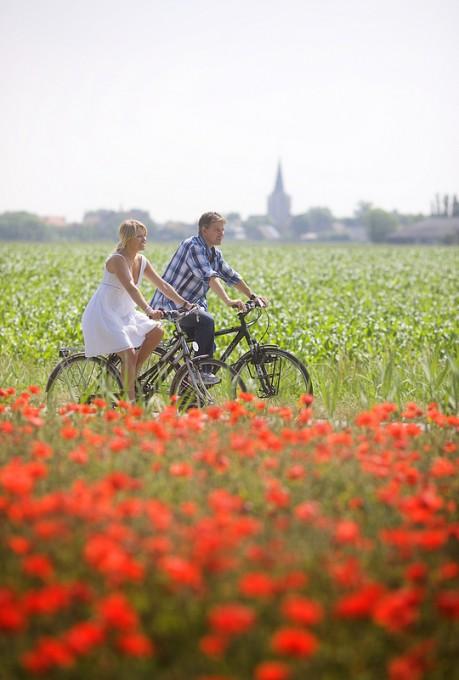 フランダース郊外サイクリングイメージ (c)Westtour