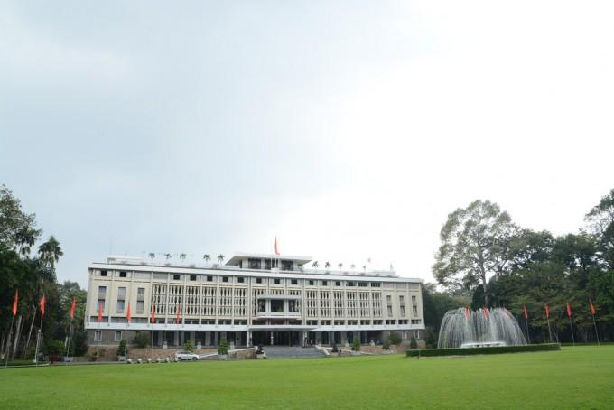 ホーチミン 統一会堂