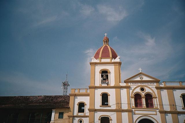 サンタ・クルーズ・デ・モンポスの歴史地区