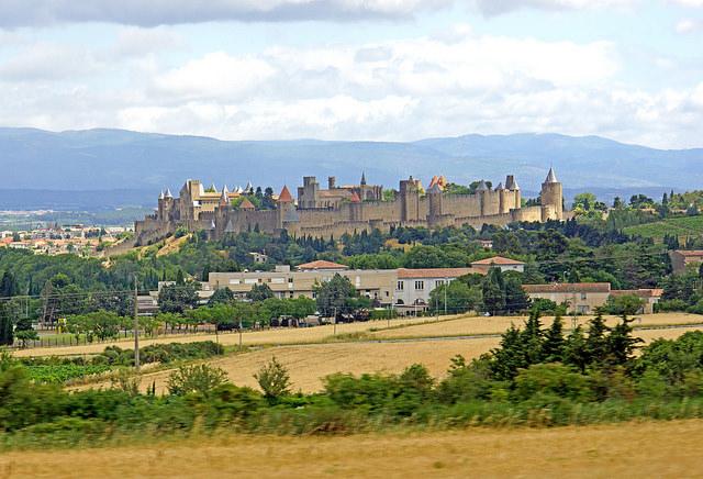 歴史的城塞都市カルカッソンヌ