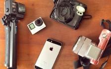 世界一周中に持ち歩く4種類のカメラとその用途