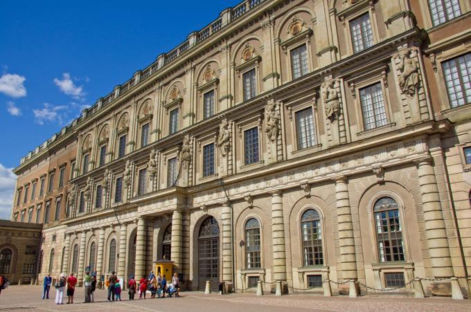 ストックホルム宮殿