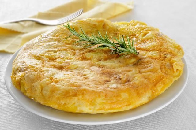 tortilla de patatas, spanish omelet