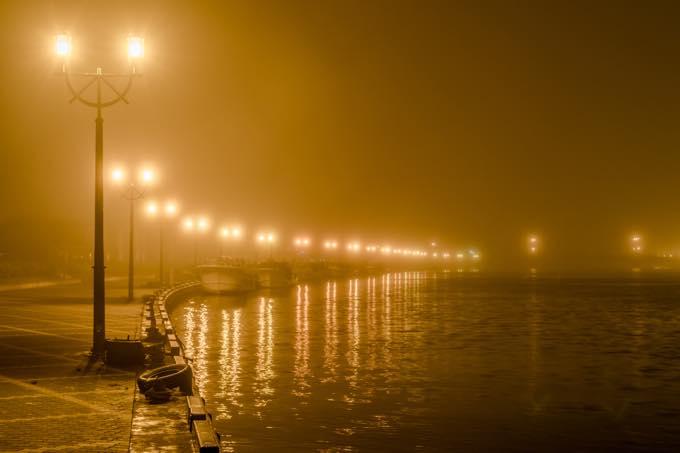 釧路の霧(釧路市内)