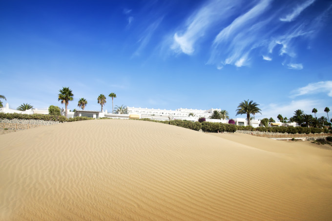 Desert dunes hotel. Maspalomas, Canary Islands, Canaries, Grand Canary