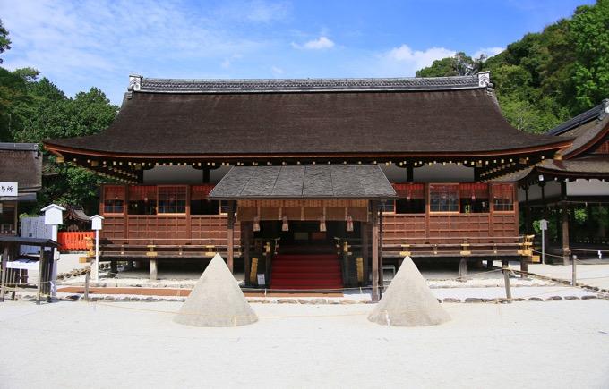 賀茂別雷神社(かもわけいかづちじんじゃ)