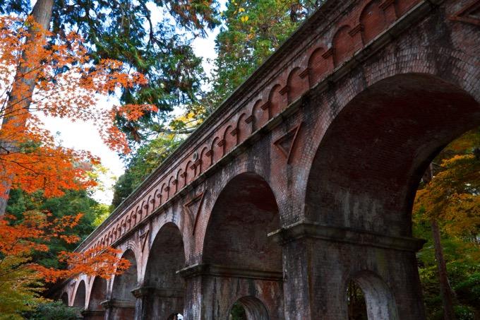 南禅寺の水道橋(水路閣)