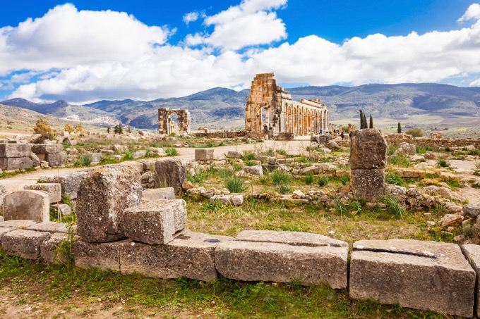ヴォルビリスの古代遺跡(ヴォルビリス)