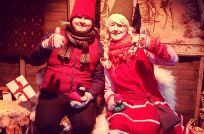 サンタさんや妖精に会える!本場フィンランドのクリスマスマーケットはムード満載♡
