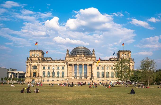 ドイツ連邦議会議事堂(ライヒスターク)