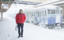 積雪130cmの中、新潟県村上市で「鮭の声が聞こえるおじさん」に出会った