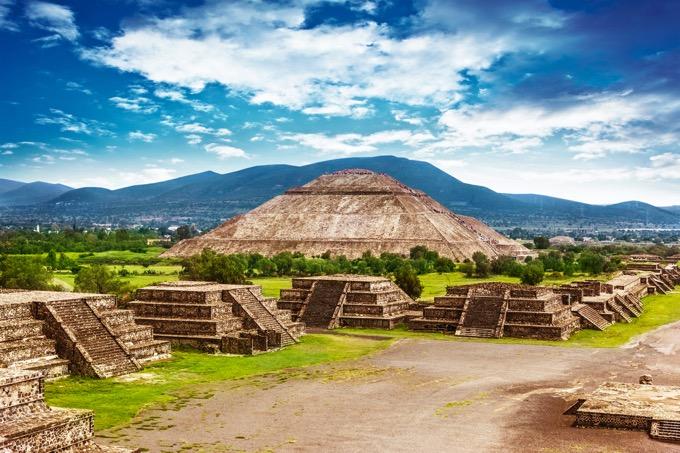 メキシコ旅行で見逃せない!古代都市「テオティワカン遺跡」