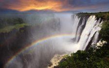 アフリカ旅行の目玉!世界三大瀑布の「ヴィクトリアの滝」