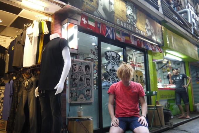 タイでたったの380円で散髪してきた!クオリティーと技術はお値段以上