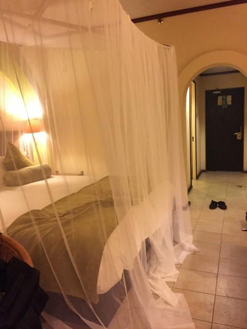 ベッドはまるでお姫様気分!南アフリカのホテルってこんな感じ