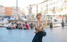 【経由地ドーハでも楽しめちゃう♡】カタール航空で行く五島夕夏のイタリアへの旅