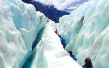 世界で唯一ヘリコプターで向かうニュージーランドの「フランツ・ジョセフ氷河」