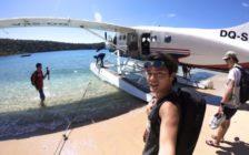 水上飛行機でフィジーの「天国」へ!ハードすぎるKEIのゴープロキャンプ奮闘記