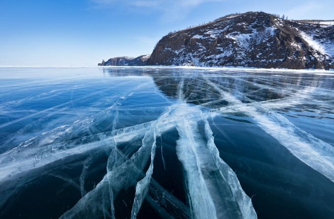 シベリアの宝石「バイカル湖」 / ロシア