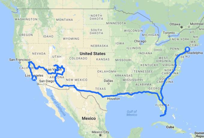 卒業旅行はアメリカ大陸横断へ!...