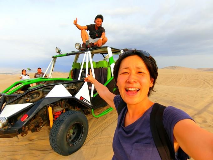 ペルー観光はワカチナへ!迫力満点のサンドバギーツアーが楽しすぎた