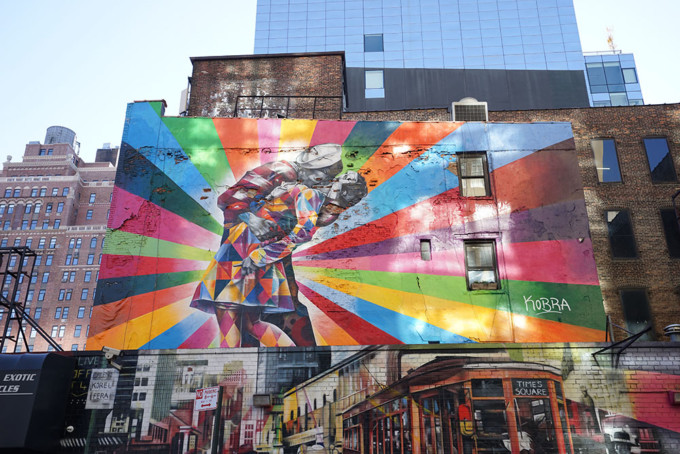 インスタ映え必至!ニューヨークで訪れたいグラフィティアート6選
