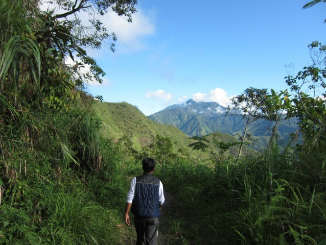 大自然の中を歩いて行きましょう