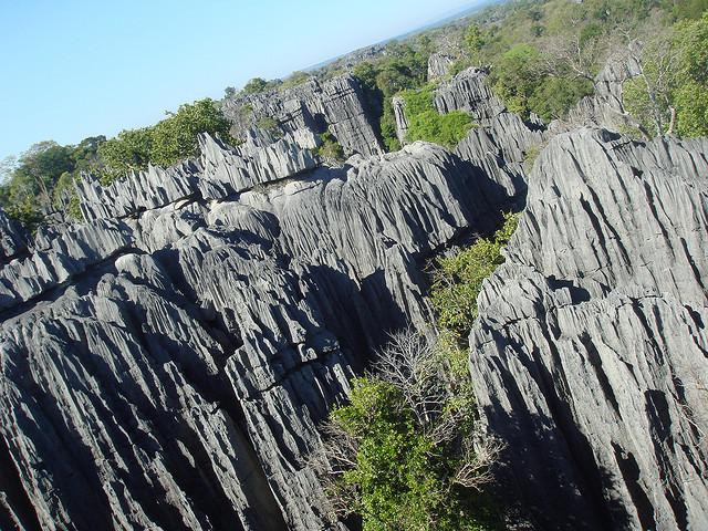 ツィンギー・デ・ベマラハ厳正自然保護区 マダカスカル 世界遺産