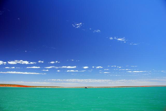 西オーストラリアのシャーク湾