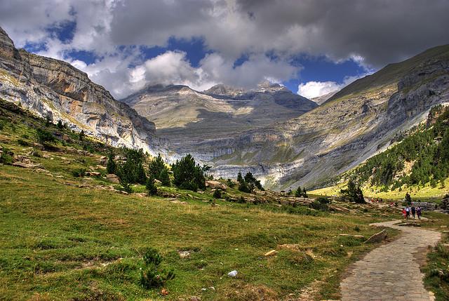 ピレネー山脈-ペルデュ山(スペイン側)