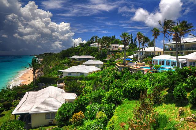バミューダ島の古都セント・ジョージ