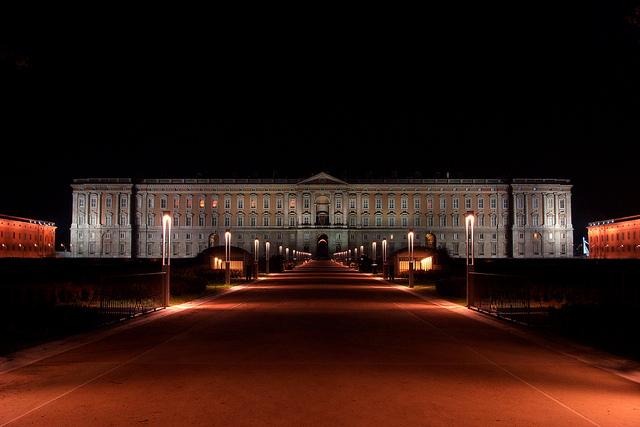 カゼルタの18世紀の王宮