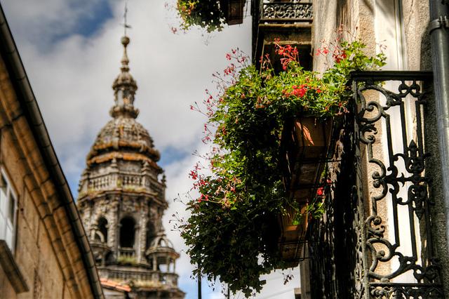 サンティアゴ・デ・コンポステーラ(旧市街)