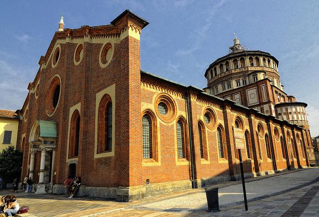 サンタ・マリア・デッレ・グラツィエ教会とドメニコ会修道院