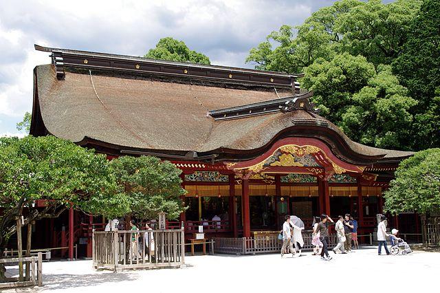 640px-20100719_Dazaifu_Tenmangu_Shrine_3328
