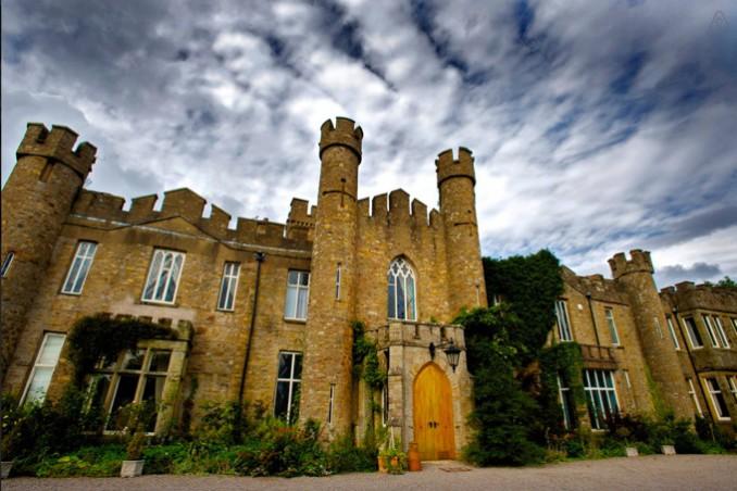 イギリスにある中世のお城