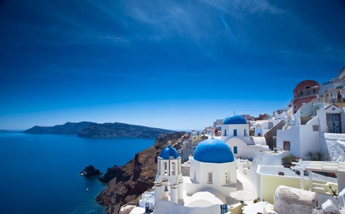 ギリシャのサントリーニ島