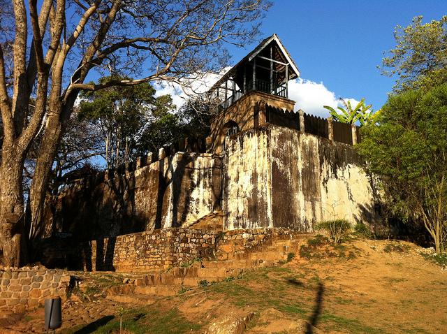 アンブヒマンガの丘の王領地 マダカスカル 世界遺産