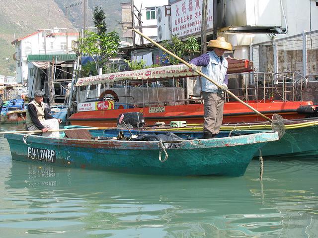 香港の蛋民(中国)