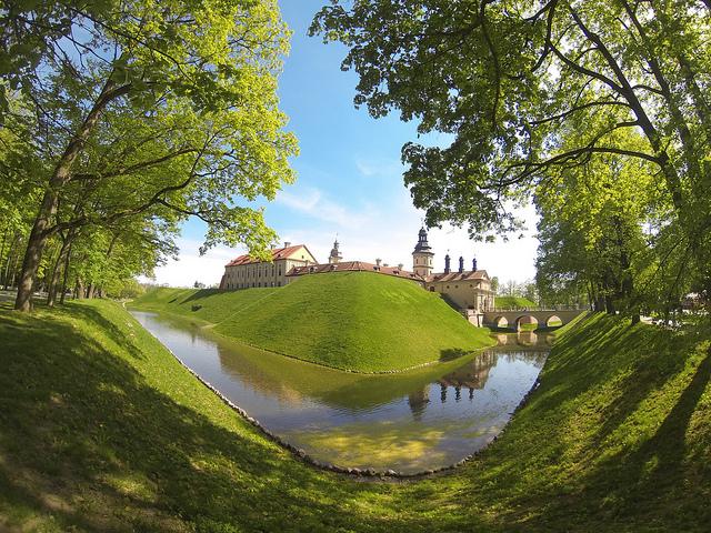 ネースヴィジのラジヴィール家の建築、住居、文化的複合体