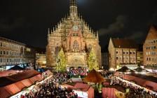Christkindlesmarkt-Nuremberg-Germany-by-night