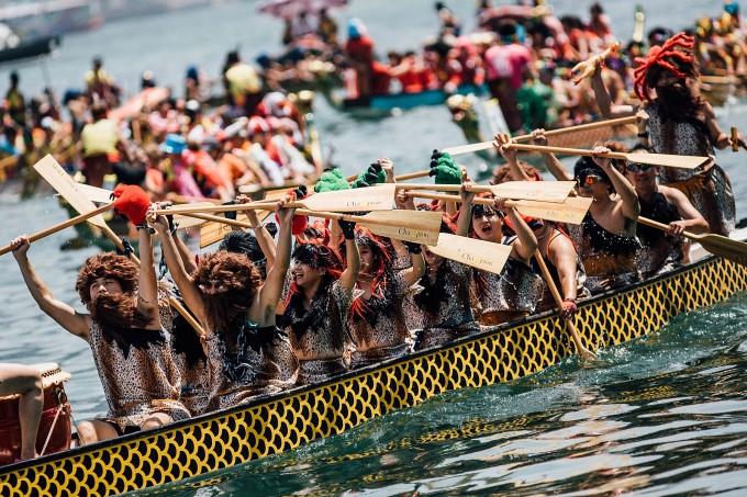 HK Dragon Boat Carnival - Race (2)