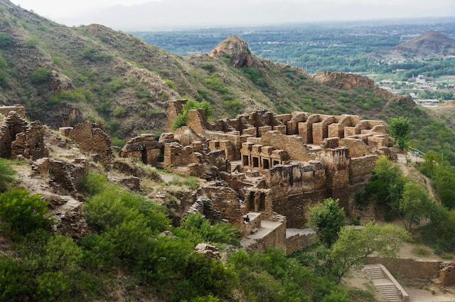 タフテ・バヒーの仏教遺跡群