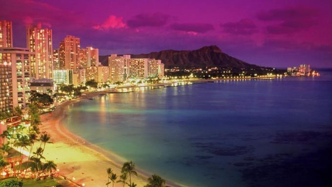 Waikiki-at-Dusk-Hawaii