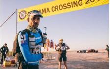 自分を追い込む砂漠マラソン