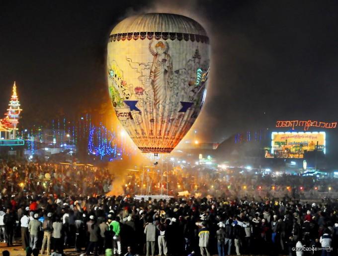 タウンジーの気球祭り